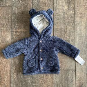 Carter's Infant Sherpa Jacket w/ Ears